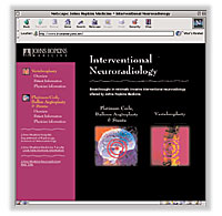Johns Hopkins Interventional Neuroradiology Web Site