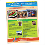 TAA Conference Flier